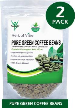 Herbalvibe Natural Green Coffee Beans Weight Loss Price In India