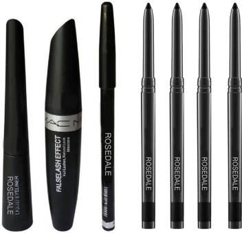 Paesaggio Felce spagnolo  Rosedale Eyeliner, Mascara & Eyebrow Pencil And 4 Kajal Set Price ...