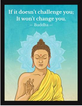 Buddha Motivational Quotes Frames Motivational Poster For Office Wall School Study Room College Institute Student Entrepreneur
