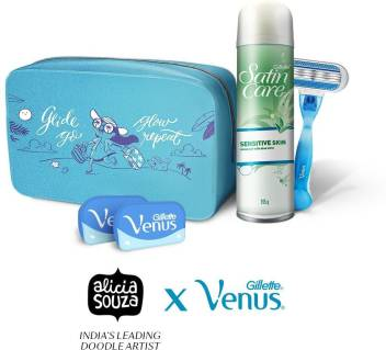 Gillette Venus Hair Removal Regimen Kit Price In India Buy Gillette Venus Hair Removal Regimen Kit Online At Flipkart Com