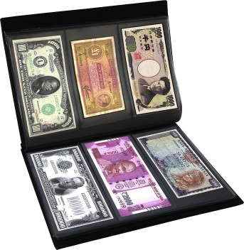 Premium 3 Pocket Currency Album Pages lot of 5