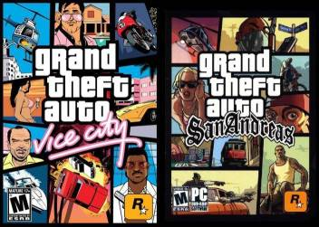 Gta Vice City And San Andreas Combo Game For Pc Hd Edition Price In India Buy Gta Vice City And San Andreas Combo Game For Pc Hd Edition Online At Flipkart Com