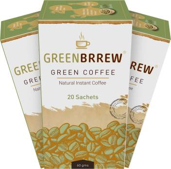 Greenbrrew Green Coffee Beans Powder For Weight Loss Instant