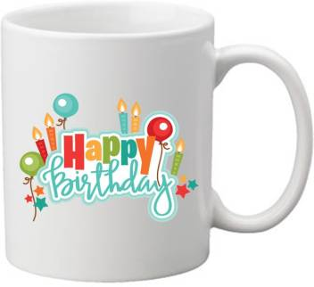 Nikhattu Happy Birthday Love Quotes Beautiful Unique Design Printed Coffee White Ceramic For Friend Best Gift For Girlfriends Birthday Gifts For Wife Ceramic Mug Price In India Buy Nikhattu