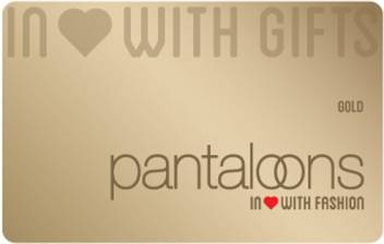 Pantaloons Physical Gift Card Price In India Buy Pantaloons Physical Gift Card Online At Flipkart Com