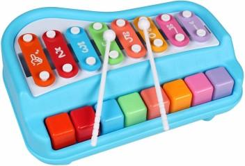 Green Tones Toddler Musical Instruments Set