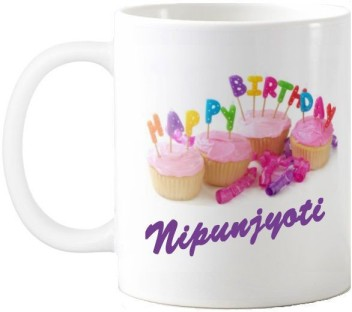 exoctic silver nipunjyoti happy birthday quotes ceramic mug