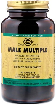 120 Tabs Solgar Male Multiple