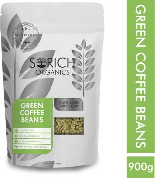 Sorich Organics Organic Green Coffee Beans For Weight Loss Instant