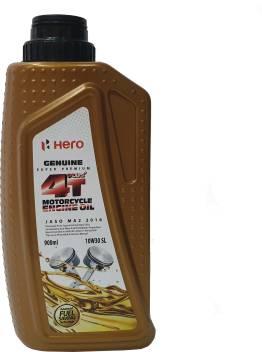 Hero 10w30 Sl 4 T Plus Super Premium 10w30 Engine Oil Price In