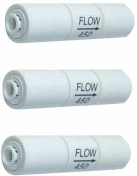 KRPLUS Flow Restrictor 450 (FR-450) With Quick In–Built Fitting Connector For All RO Water Purifier ¼ Inch Piping. (Pack Of 3) Solid Filter Cartridge Price in India - Buy KRPLUS Flow Restrictor