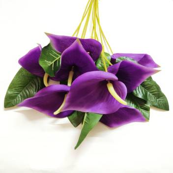 Artificial Hub Anthurium Artificial Flower Purple Peace Lily Artificial Flower Price In India Buy Artificial Hub Anthurium Artificial Flower Purple Peace Lily Artificial Flower Online At Flipkart Com