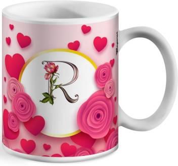 Wagwan Letter R Alphabet Best Gift for Boy Friend Special Birthday Gift For  Girlfriend618 Ceramic Mug Price in India - Buy Wagwan Letter R Alphabet  Best Gift for Boy Friend Special Birthday