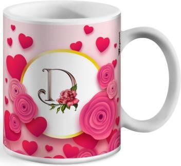Wagwan Letter D Alphabet Best Gift For Boy Friend Special Birthday Gift For Girlfriend 604 Ceramic Mug Price In India Buy Wagwan Letter D Alphabet Best Gift For Boy Friend Special