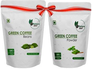 Nature Seed Green Coffee Beans Powder Instant Coffee Price In