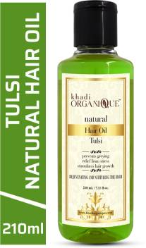 Khadi Organique Tulsi Hair Growth Oil 100 % Original Khadi Hair Oil