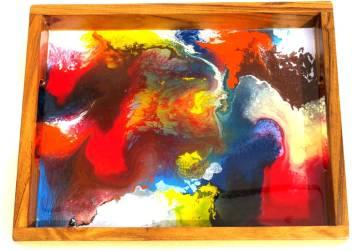 Furniture India Multi Color Epoxy Resin