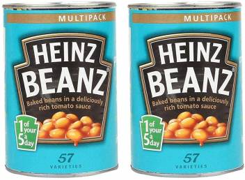 Heinz Baked Beans 415g Pack Of 2 Beans Price In India Buy Heinz Baked Beans 415g Pack Of 2 Beans Online At Flipkart Com