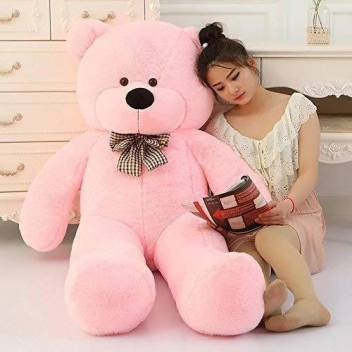 Jst Soft Toys Extra Large Very Soft Lovable Huggable Teddy Bear For Girlfriend Birthday Gift Boy Girl Pink 3 Feet 91 Cm 91 Cm Soft Toys Extra Large Very Soft Lovable Huggable Teddy Bear For