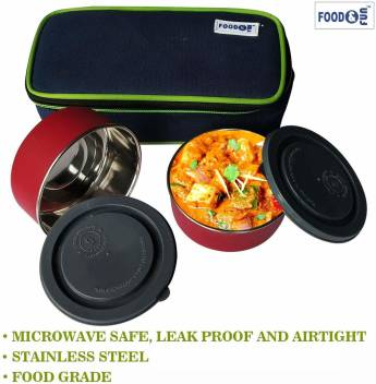 Cover Air 2 Containers Lunch Box