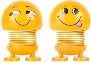 india fun zone dancing spring neck emoji - dancing spring neck emoji . Buy dancing emoji, car decoration emoji toys in India. shop for india fun zone products in India. | Flipkart.com