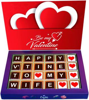 Expelite Valentine Gifts For Her 24 Chocolate Valentine Gifts For Wife Bars Price In India Buy Expelite Valentine Gifts For Her 24 Chocolate Valentine Gifts For Wife Bars Online At Flipkart Com