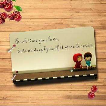 creation Forever Love Wooden Scrapbook