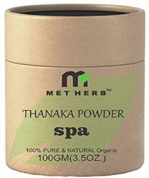 Metherb Thanaka Bark Powder 100 Permanent Hair Removal 100g Wax