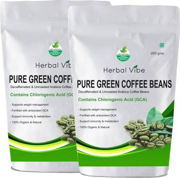 Herbal Vibe Green Coffee Beans For Weight Loss Instant Coffee
