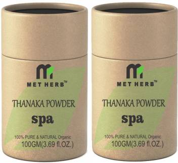 Metherb Thanaka Powder For Permanent Hair Removal 100g Pack Of 2