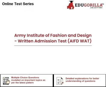 Edugorilla Army Institute Of Fashion And Design Written Admission Test Aifd Wat Test Preparation Price In India Buy Edugorilla Army Institute Of Fashion And Design Written Admission Test Aifd