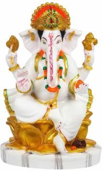 FABZONE FABZONE Marble Lord Ganesha Idol God Ganpati / Ganesh ...