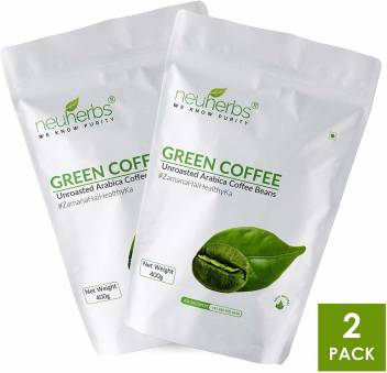Neuherbs Green Coffee Beans For Weight Loss Management Pack Of 2