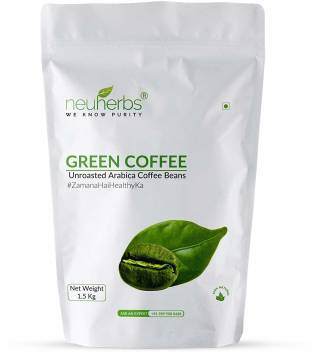Neuherbs Green Coffee Beans For Weight Loss Instant Coffee Price