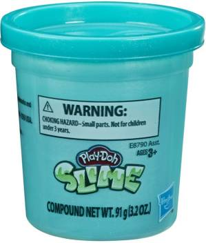 3.2 Ounces Play-Doh Foam Teal Single Can of Modeling Foam for Kids 3 Years and Up