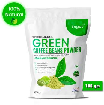 Tegut Green Coffee Beans Powder For Weight Loss 100 G Instant