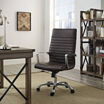 Finch Fox Pu Leatherette Executive House Chair Desk Chair Employee Home Chair Doctors Office Chair In Brown Leatherette Office Arm Chair Price In India Buy Finch Fox Pu Leatherette Executive House Chair Desk Chair Employee Home Chair Doctors Office