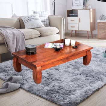 Low Height Solid Wood Coffee Table