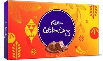Cadbury Celebrations Assorted Chocolates Bars, Crackles Price in ...