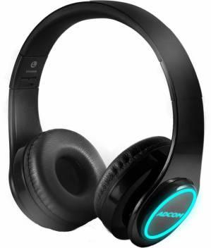 Adcom Luminosa Wireless Bluetooth Led Over Ear Foldable Headset Bluetooth Headset Price In India Buy Adcom Luminosa Wireless Bluetooth Led Over Ear Foldable Headset Bluetooth Headset Online Adcom Flipkart Com