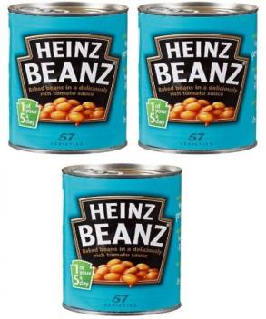 Heinz Beanz Baked Beans In Tomato Sauce 415g Pack Of 3 Beans Price In India Buy Heinz Beanz Baked Beans In Tomato Sauce 415g Pack Of 3 Beans Online At Flipkart Com