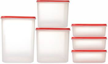 Tupperware Dry Storage Smart Snack Pulses Lentils Storer Set 1 1 L 2 5 L 3 9 L 5 4 L Plastic Grocery Container Price In India Buy Tupperware Dry Storage Smart Snack Pulses