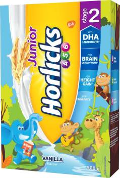 Junior Horlicks Vanilla Flavour Stage 2 Price In India Buy Junior Horlicks Vanilla Flavour Stage 2 Online At Flipkart Com
