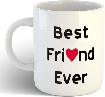 Artscoop Cute Coffee Cups For Best Friends Best Friend Ever Quotes Printed Ceramic Cup For Bff Gift Ceramic Coffee Mug Price In India Buy Artscoop Cute Coffee Cups For Best