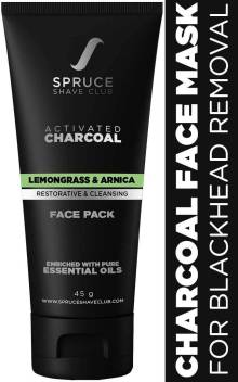 Spruce Shave Club Charcoal Face Mask For Blackhead Removal Glowing Skin Price In India Buy Spruce Shave Club Charcoal Face Mask For Blackhead Removal Glowing Skin Online In India