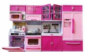Toy Store Barbie Dream House Kitchen Set Light Sound Barbie Dream House Kitchen Set Light Sound Buy Chef Toys In India Shop For Toy Store Products In India