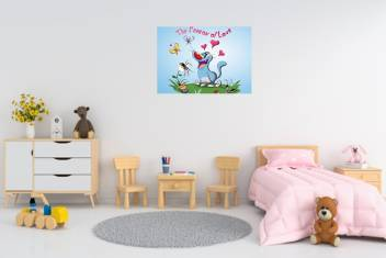 Wall Sticker Self Adhesive Poster Oggy And The Cockroaches Sticker Poster Sticker Poster