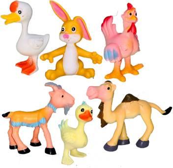 Small Size Cartoon Series, Farm Animal Figurines