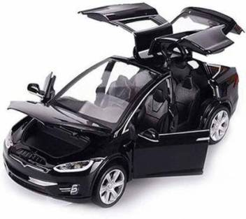 Wecan Fashion We Can 1 32 Scale Car Model X90 Tesla Alloy 1 32 Diecast Model Car W Sound Light Pull Back Model Car Toy Cars Kids Toys Collection Black We Can