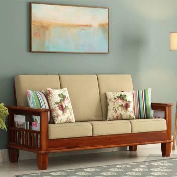 Kendalwood Furniture Living Room Wooden Sofa Set Fabric 3 Seater Sofa Price In India - Buy Kendalwood Furniture Living Room Wooden Sofa Set Fabric 3 Seater Sofa Online At Flipkart.com